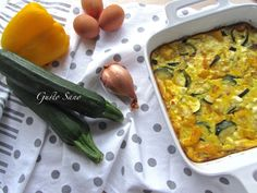Ricetta: Frittata in teglia alle verdure e feta
