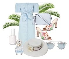 """""""Summer Romance"""" by nina2809-x ❤ liked on Polyvore featuring Topshop, Gucci, Christian Dior, Tory Burch, Chanel, Essie and Marc Jacobs"""