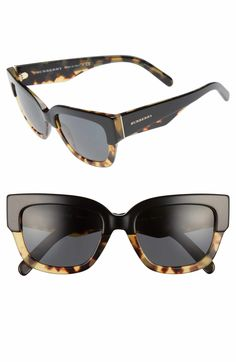 Main Image - Burberry 53mm Sunglasses