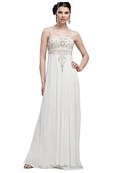 Sue Wong Beaded Bodice Long Gown