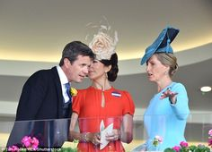 Prince Frederik leaned in close to chat with Mary a number of times...