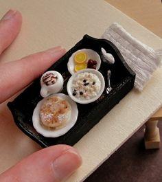 Mini breakfast tray