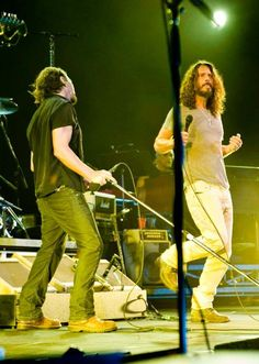Onstage with Eddie Vedder and Temple of the Dog at PJ20 in September 2011