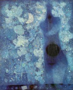 The Antelucan Hourglass - surreelust: Tammuz byMordecai Ardon (1962)