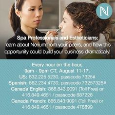 Calling all skin care professionals!! You have to listen to this call!!!