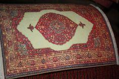 "Keshishian 7 1/4X 9 1/2 rug ""Tabriz"" by ComeIntoMyParlor on Etsy"