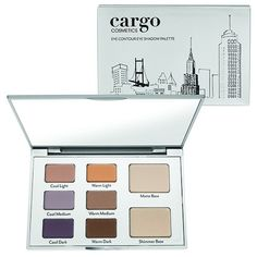 Cargo Eye Contour Palette for Spring I can not wait to get this palette. Cargo is becoming one of my top favorite cosmetic companies. I haven't been disappointed with any of their products yet. Contour With Eyeshadow, Eye Contour, Matte Eyeshadow, Mally Beauty, Diy Beauty, Beauty Guide, Makeup Palette, Eyeshadow Palette, Contour Palette
