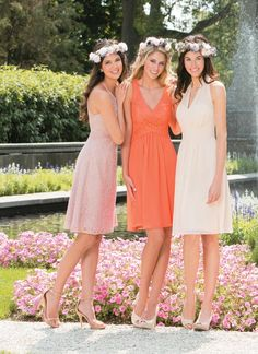 Bridesmaid dresses by Jasmine B2 - Style B173008, B173009, B173001