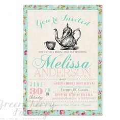 Items similar to Royal British Party Invitation - Birthday, Baby Shower Tea Party, Bridal Shower Tea Party and More on Etsy Free Printable Invitations Templates, Baby Shower Invitation Templates, Invitation Design, Printable Party, Templates Free, Invitation Wording, Invitation Ideas, Printable Vintage, Bridal Tea Invitations
