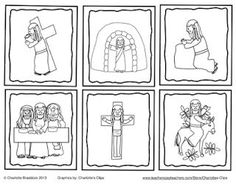 Classroom Freebies: Holy Week Sequencing cards and craft