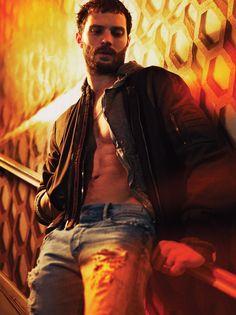 Jamie Dornan portadas de las revistas Interview, posa para Gritty Nuevas fotos