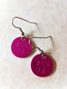 ThirtyOne Earrings by IwancioDesign on Etsy