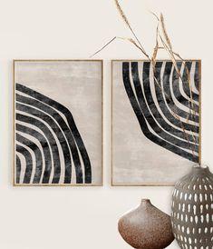 Modern Art Prints, Wall Art Prints, Modern Wall Art, Modern Artwork, Black Wall Art, Modern Canvas Art, Art Prints For Home, Modern Art Paintings, Diy Wall Art