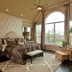 furniture placement for master bedroom