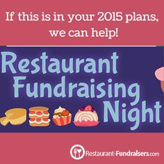 Our guide to running a restaurant fundraiser has helpful -- and easy -- tips for you!