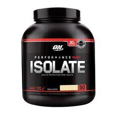 Performance Whey Isolate Proteína sabor vainilla 4.5Lbs