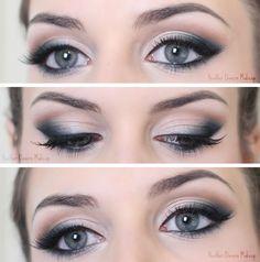 Todays Makeup - Teal Corners - Heather Davern Makeup