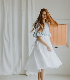 The White Overall Skirt – Paige Avenue