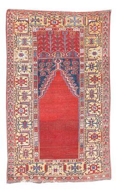 Ladik Prayer Rug, c. 1800