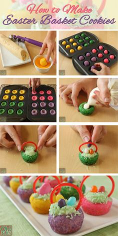 Easter Basket Cookies - 17 Decorative And Delicious Easter Dessert Recipes