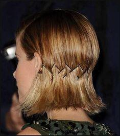 Liebenswert Kurze Frisuren mit Bobby Pins - Neue Frisur Stil | Einfache Frisuren