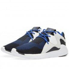 Y-3 Qasa Racer Knit Run (Electric Blue, Black & White)