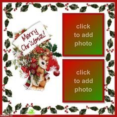 ANIMATED CHRISTMAS PUPPY DOG PICTURE FRAMES Christmas Frames, Christmas Ornaments, Dog Picture Frames, Teddy Bear Pictures, Christmas Puppy, Dogs And Puppies, Projects To Try, Animation, Holiday Decor