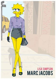 6 personagens famosos de desenhos dos anos 90 vestidos para a Semana de Moda de Nova York | ROCK N' TECH