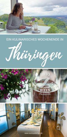 Ein Wochenende lang durfte ich durch Thüringen reisen und die Thüringer Tischkultur kennenlernen!