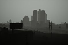 The Big Picture: Virtual Los Angeles' minimalist skyline