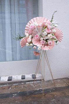 Creative Flower Arrangements, Flower Arrangement Designs, Funeral Flower Arrangements, Flower Designs, Floral Arrangements, Party Decoration, Diy Wedding Decorations, Balloon Decorations, Flower Decorations