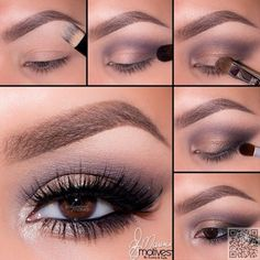 24. #Purple and Gold Dusty #Smokey Eye - 26 Different Ways to #Create……