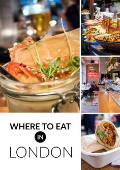 All my favorite places to eat in London!  Best London restaurants.