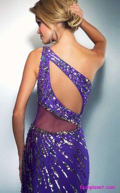 Cassandra Stone backless Dress