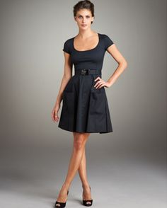 Yes, please. Prada dress, sold at Nieman Marcus for $850.00.