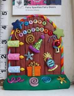 Fairy Door, Elf, Shelf Birthday,Tooth Fairy Door by Fairy Sparkles FS772