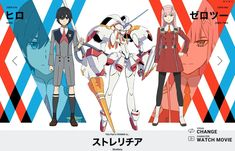 anime: search results - darling character