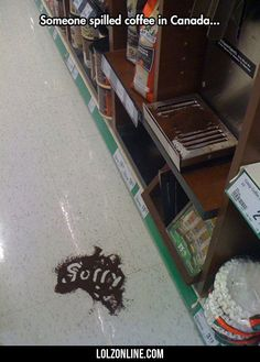 Someone Spilled Coffee… #lol