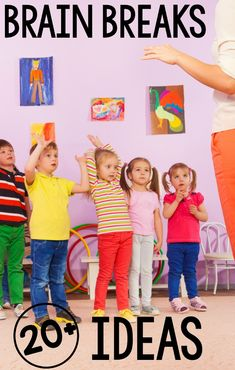 Brain breaks for the classroom are a must! Themed brain breaks make them more fun and easy to incorporate into the classroom at any time. Stepping away from technology and moving is so important for children! Music Therapy Activities, Gross Motor Activities, Sensory Activities, Proprioceptive Activities, Movement Activities, Sensory Play, Physical Activities, Pediatric Physical Therapy, Pediatric Ot