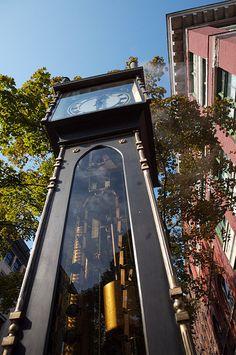 Steam Powered Clock