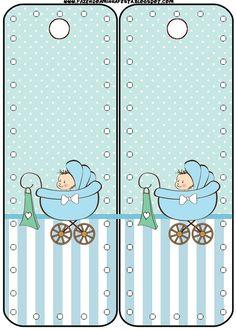 Marcador de Páginas Chá de Bebê ou Chá de Fraldas: