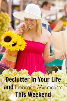 8 things you can declutter today simple living and for Declutter minimalist life