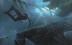 El arte conceptual detrás de Rise of the Tomb Raider - http://www.juegosycosplays.com/juegos/noticias/el-arte-conceptual-detras-de-rise-of-the-tomb-raider-123