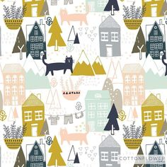 What came up from the motifs I drew on Sunday. Little  town in the mountain!! #cottonflowerstudio #abmpatternlove #love #lnspiration #artwork #illustrator #illustration #illustrationoftheday #surfacedesign #surfacepattern #pattern #patterndesign #worldofartists #illustrationart #design #estampa #artlicensing #art_we_inspire #designdesuperficie #cat