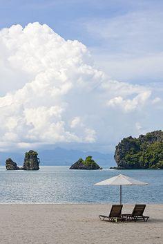 Beach at Tanjung Rhu Resort, Langkawi, Malaysia
