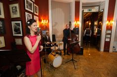 A jazz band can also be perfect wedding dance music for a change - here's one we did in The Savile Club, London