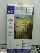 STENCIL DECOR PLAID 26854