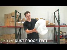 """As part of our """"Gauntlet"""" series, Ashton demonstrates how the Kraken case for Droid X perfectly insulates the device from dirt, dust and debris.     The bag included the contents of a vacuum, a few handfuls of dirt from outside and a dust-pan full of whatever we could sweep up in the warehouse."""