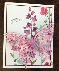 Stampin' Up! Butterfly thinlits dies