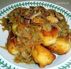 Džadky z vachtárne dedka Tatuša (fotorecept) - recept Gnocchi Recipes, Chicken, Meat, Cooking, Kitchen, Brewing, Cuisine, Cook, Cubs